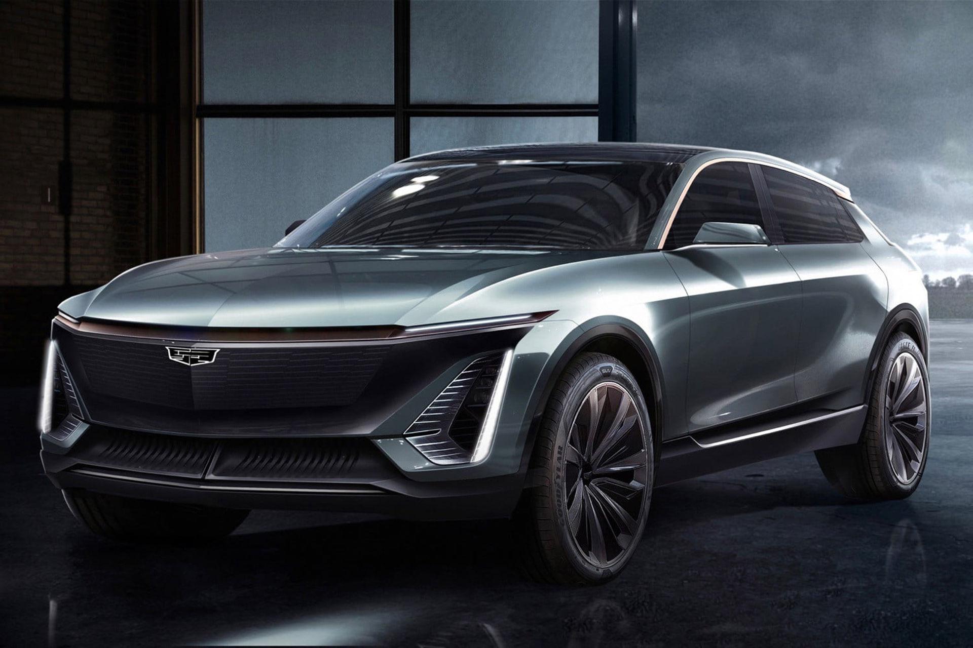 Cadillacs första elbil presenteras om ett år