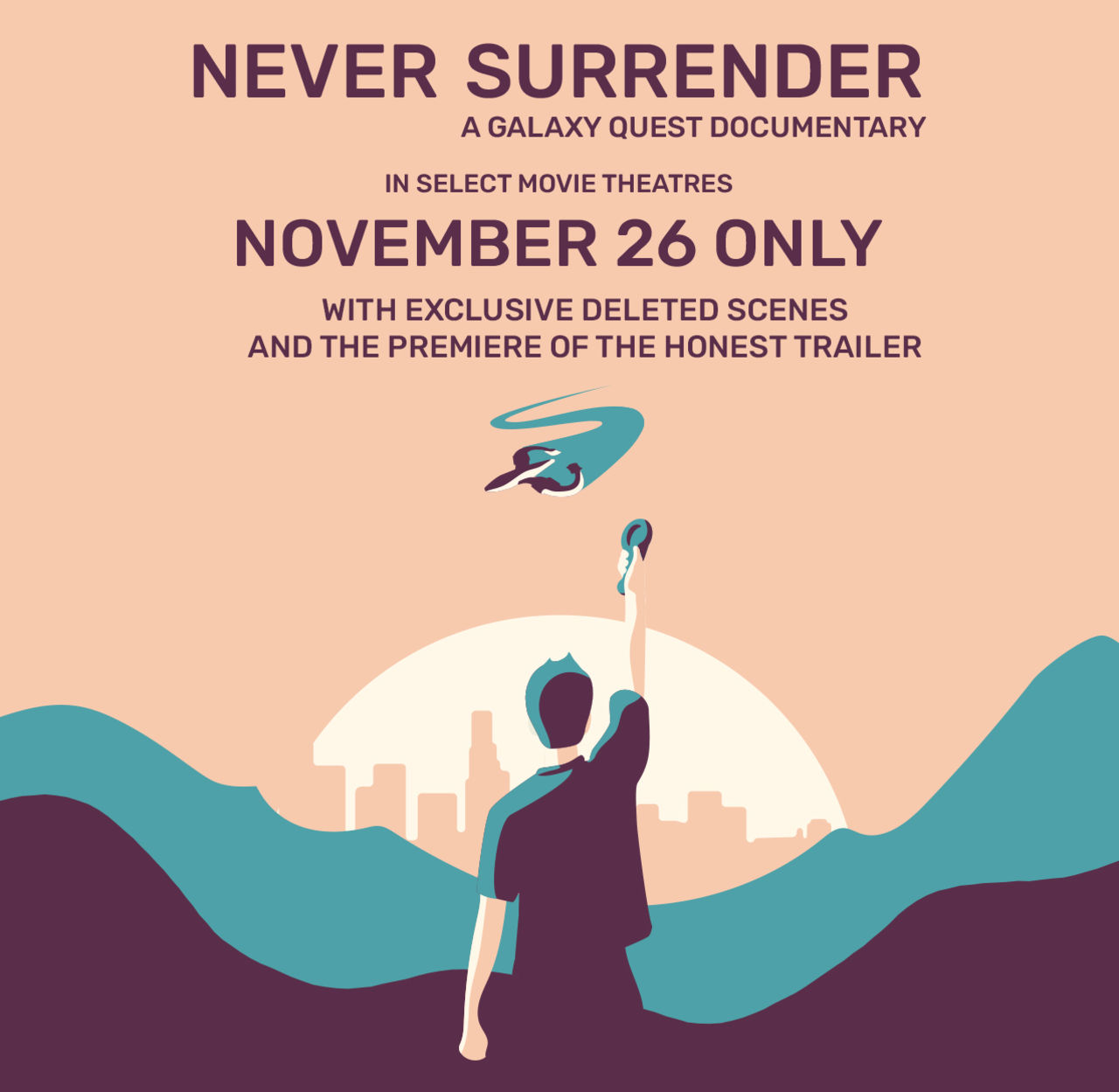 Nu har Never Surrender haft premiär