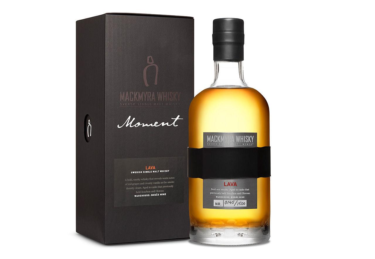 Moment Lava - ny whisky från Mackmyra