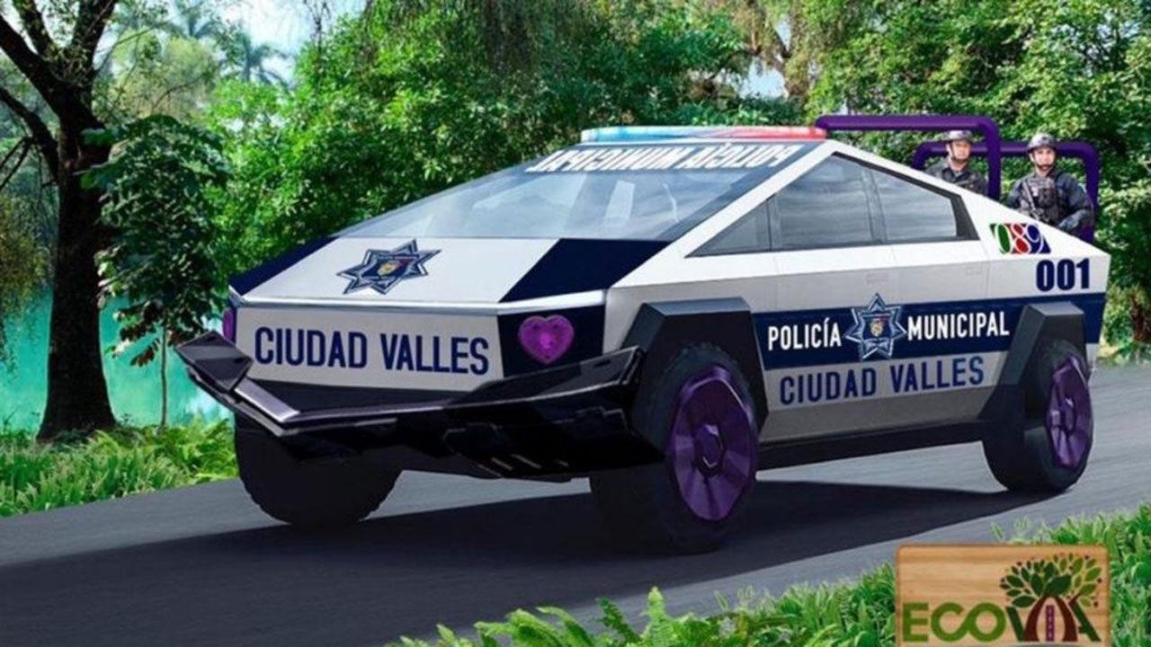 Mexikanska polisen har beställt 15 stycken Cybertrucks