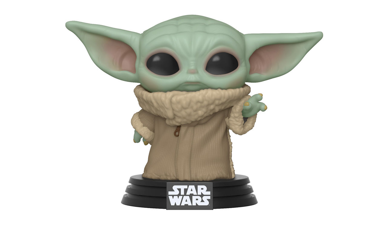 Funko Pop visar upp Baby Yoda-figur