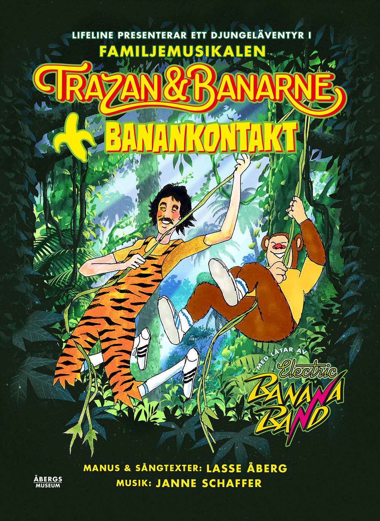 Trazan & Banarne blir familjemusikal