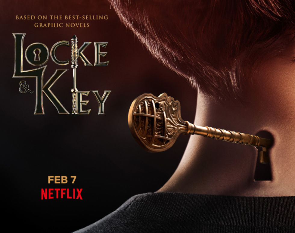 Locke & Key har premiär 7 februari på Netflix