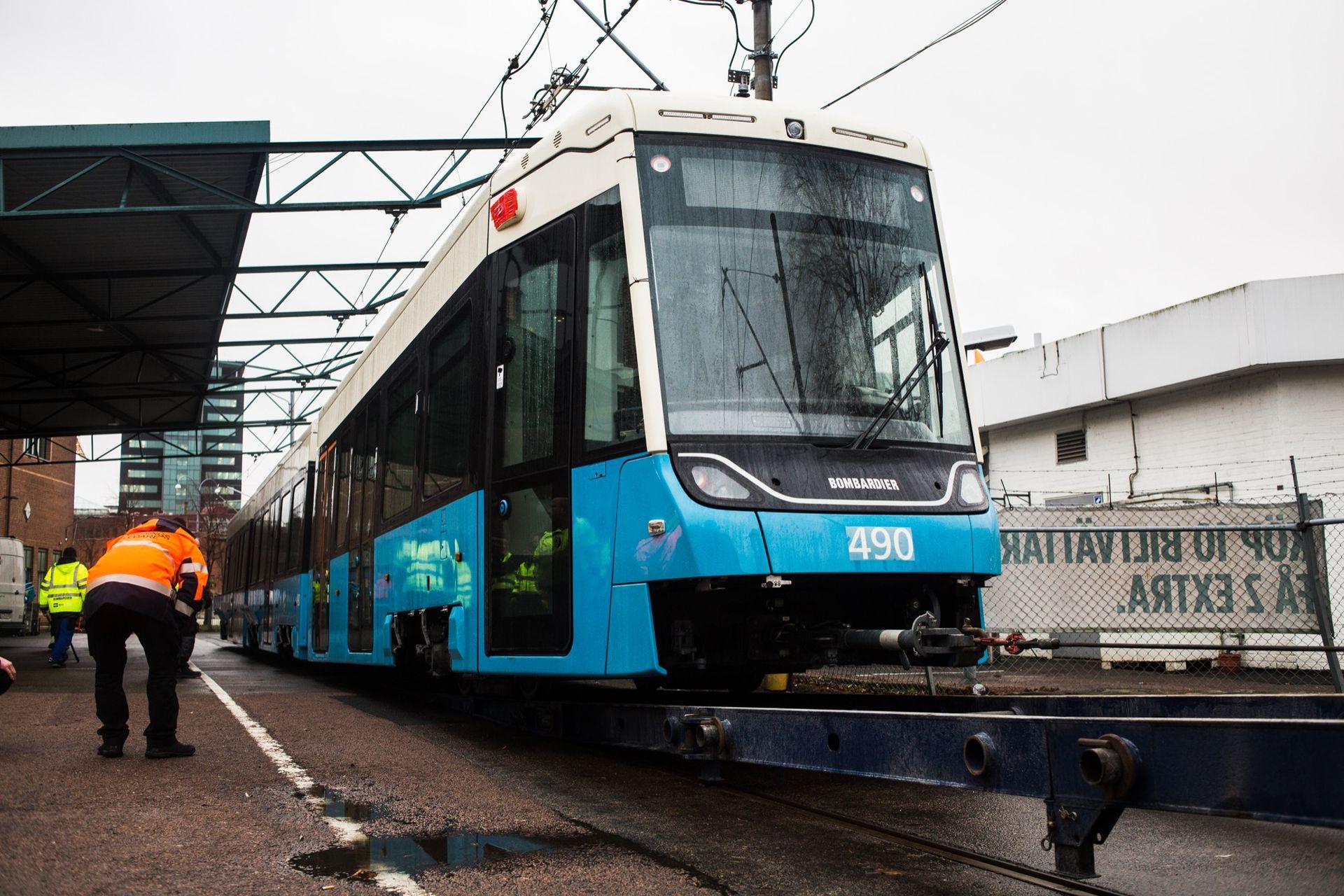 Här är Göteborgs nya spårvagn!