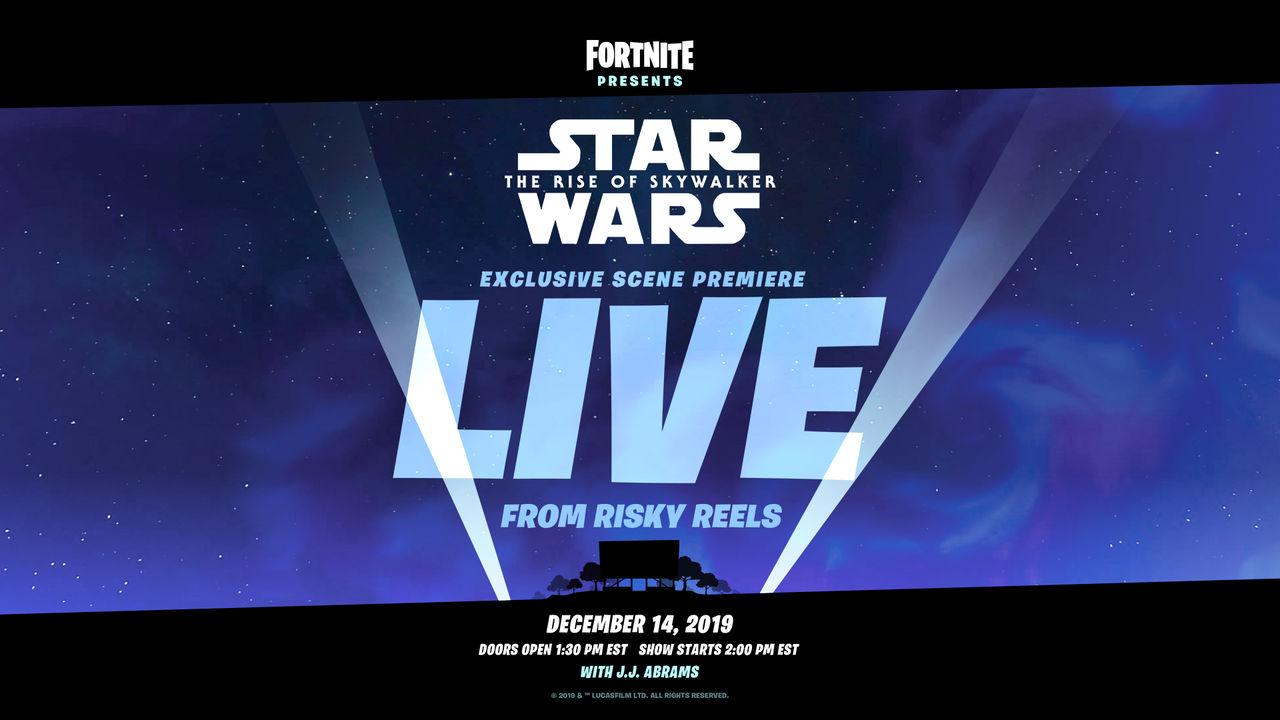 Snart kan du se Star Wars i Fortnite