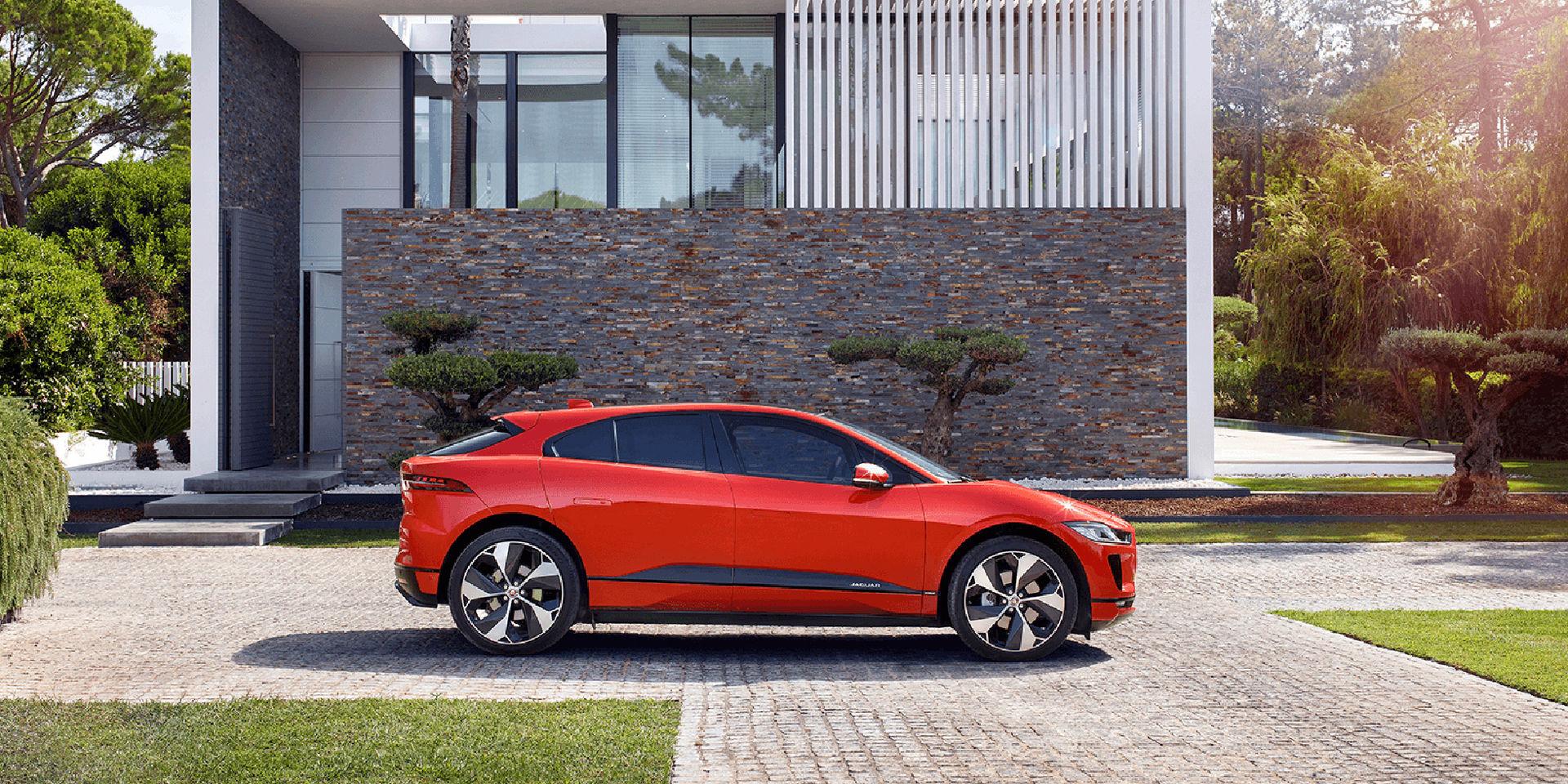 Jaguar I-Pace får åtta procents extra räckvidd