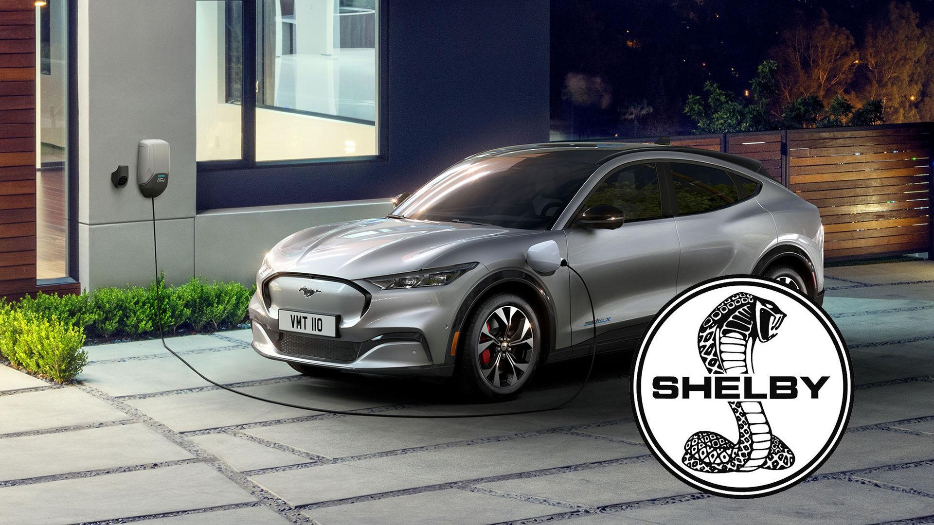 Ford Mustang Mach-E kommer att få en Shelby-version