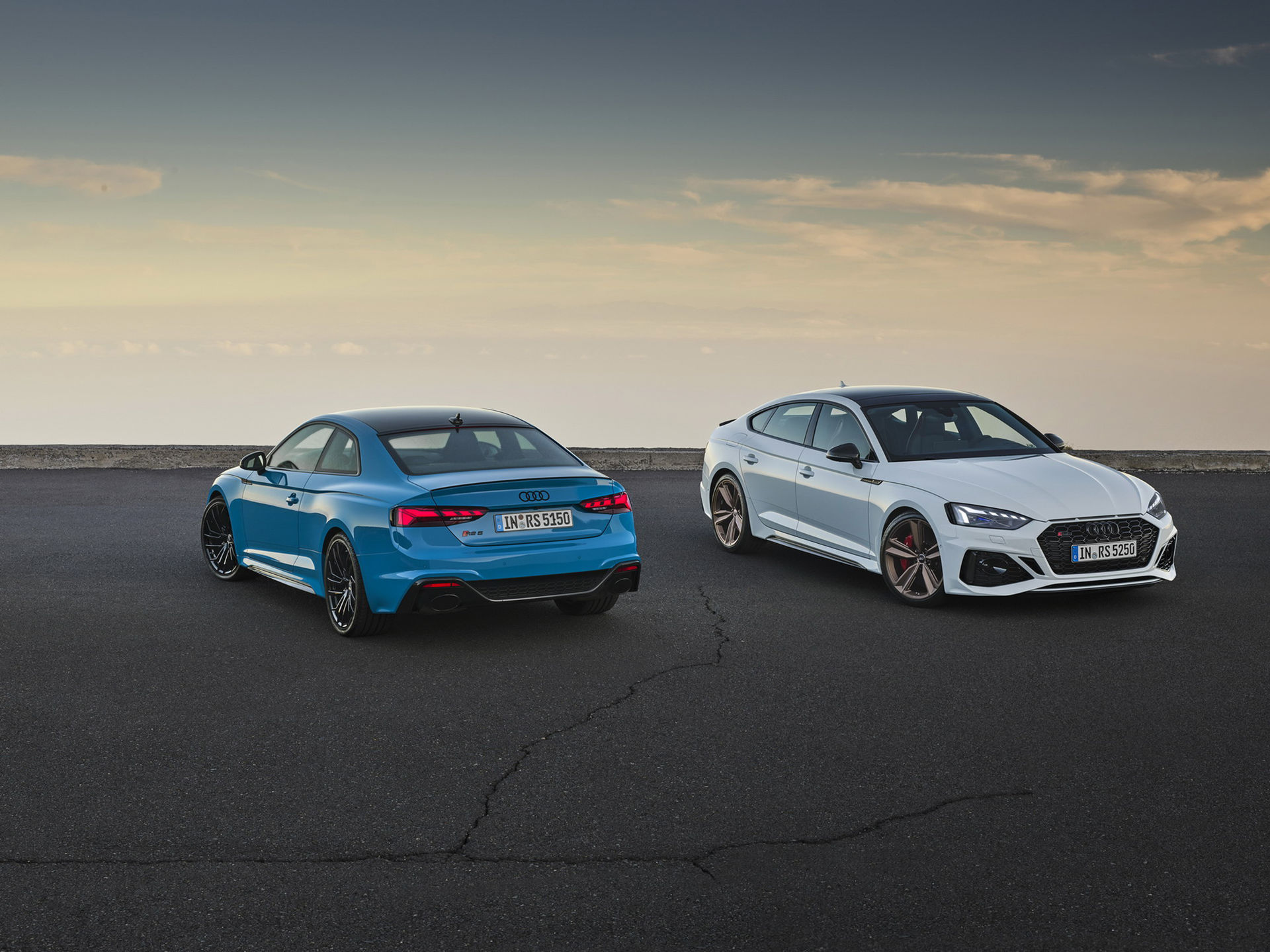 Audi lyfter RS5 Coupé och RS5 Sportback