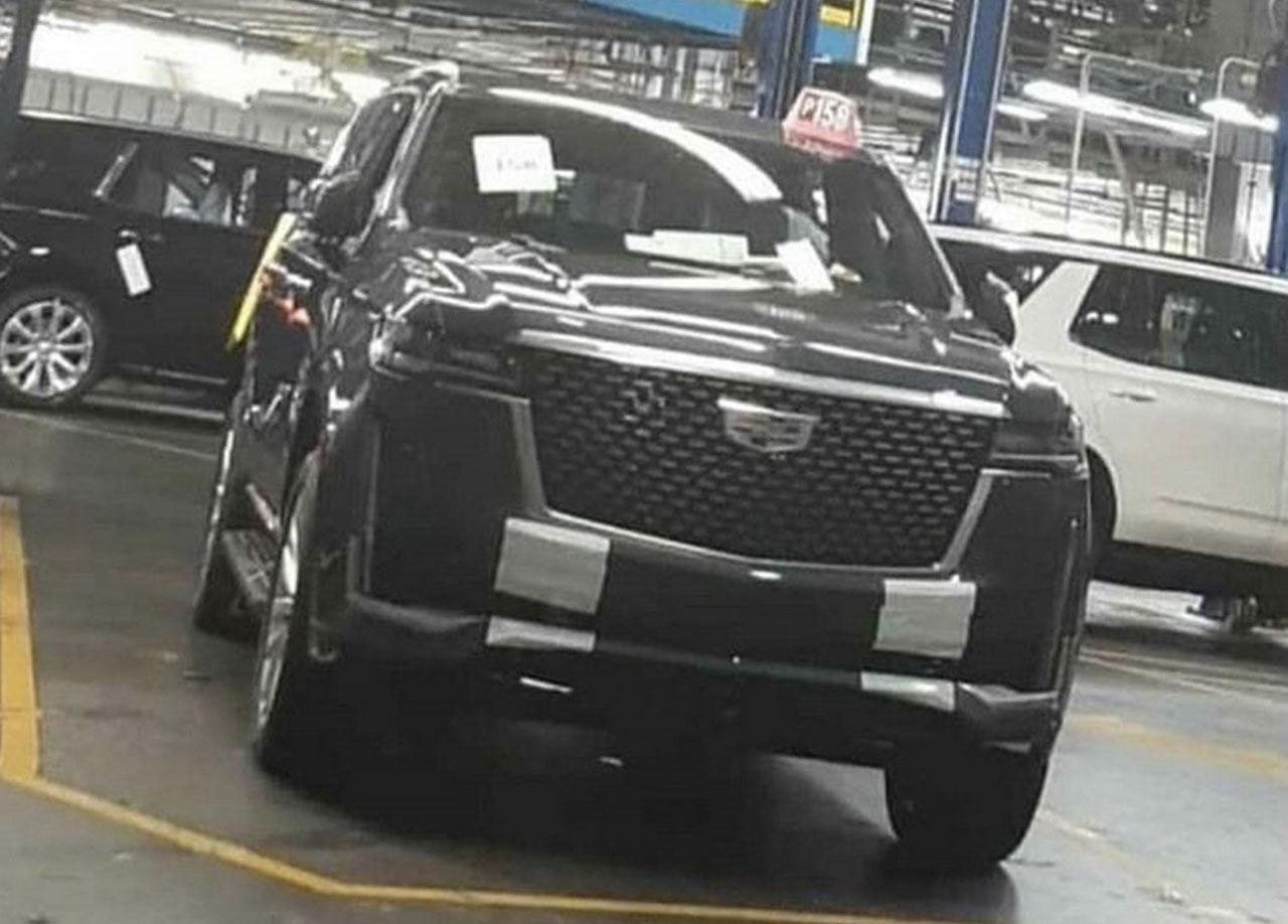 Nya Cadillac Escalade läcker