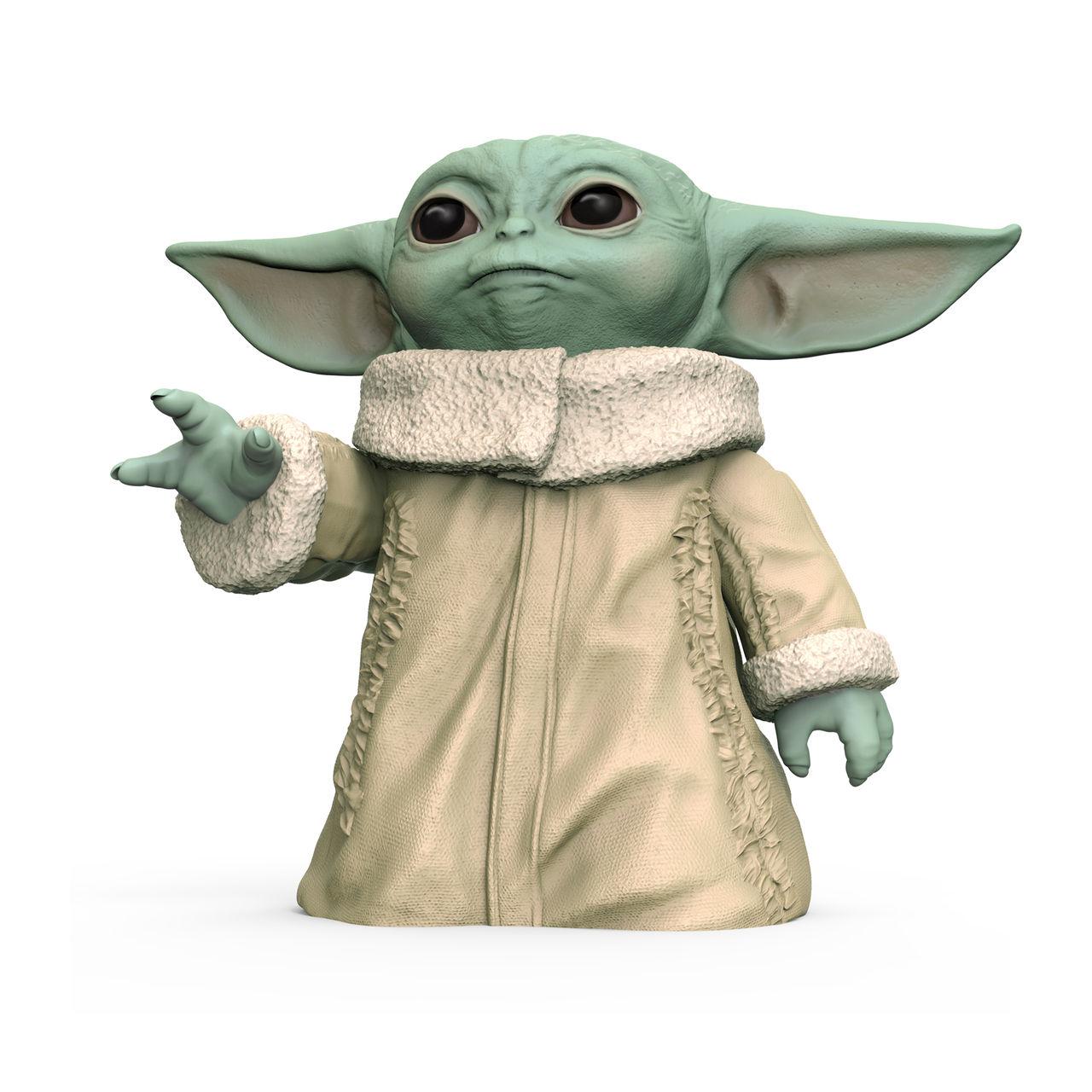 Här är Hasbros Baby Yoda-merch