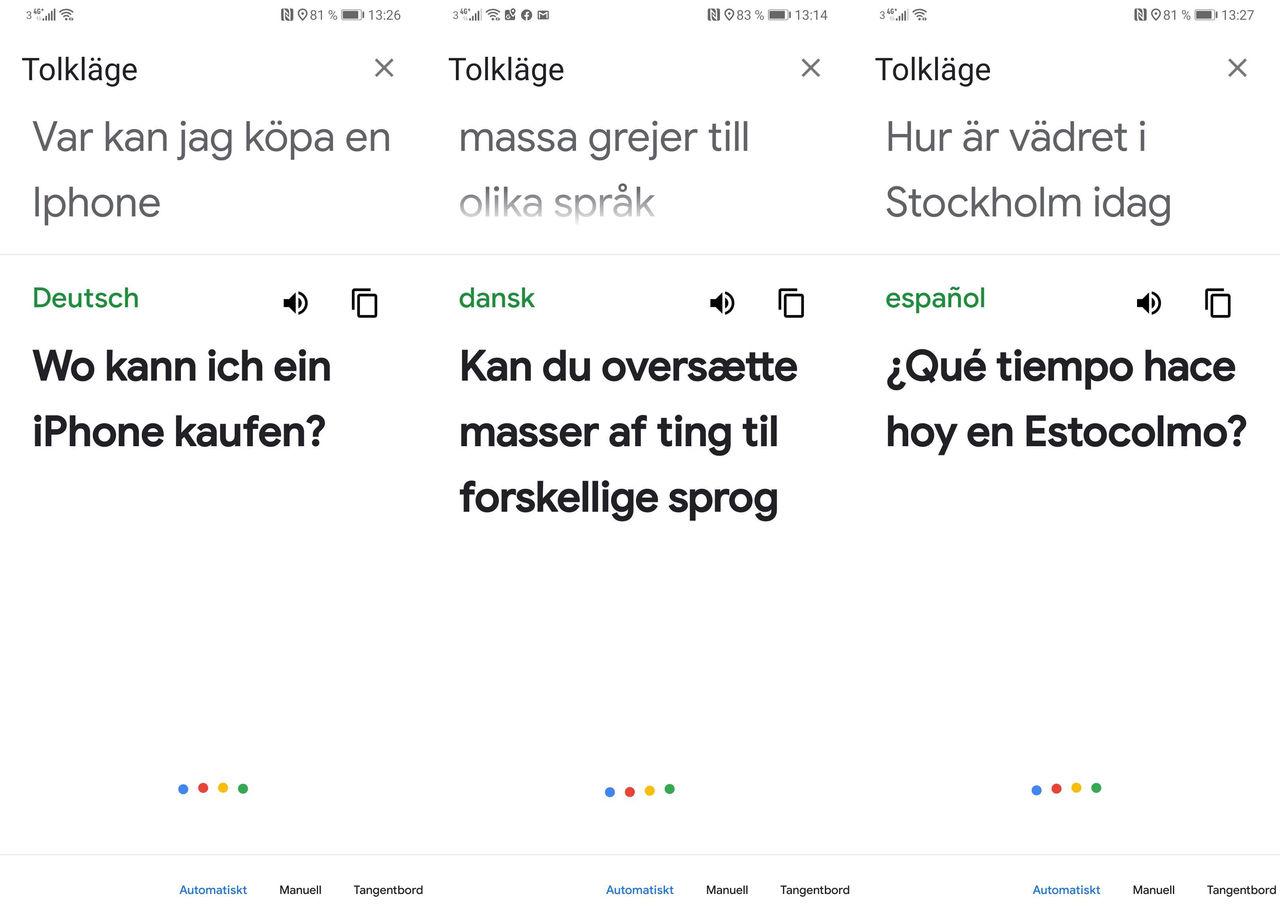 Nu kommer Google Assistants tolk till mobilen