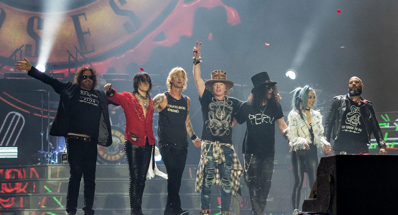 Guns N' Roses kommer till Sweden Rock