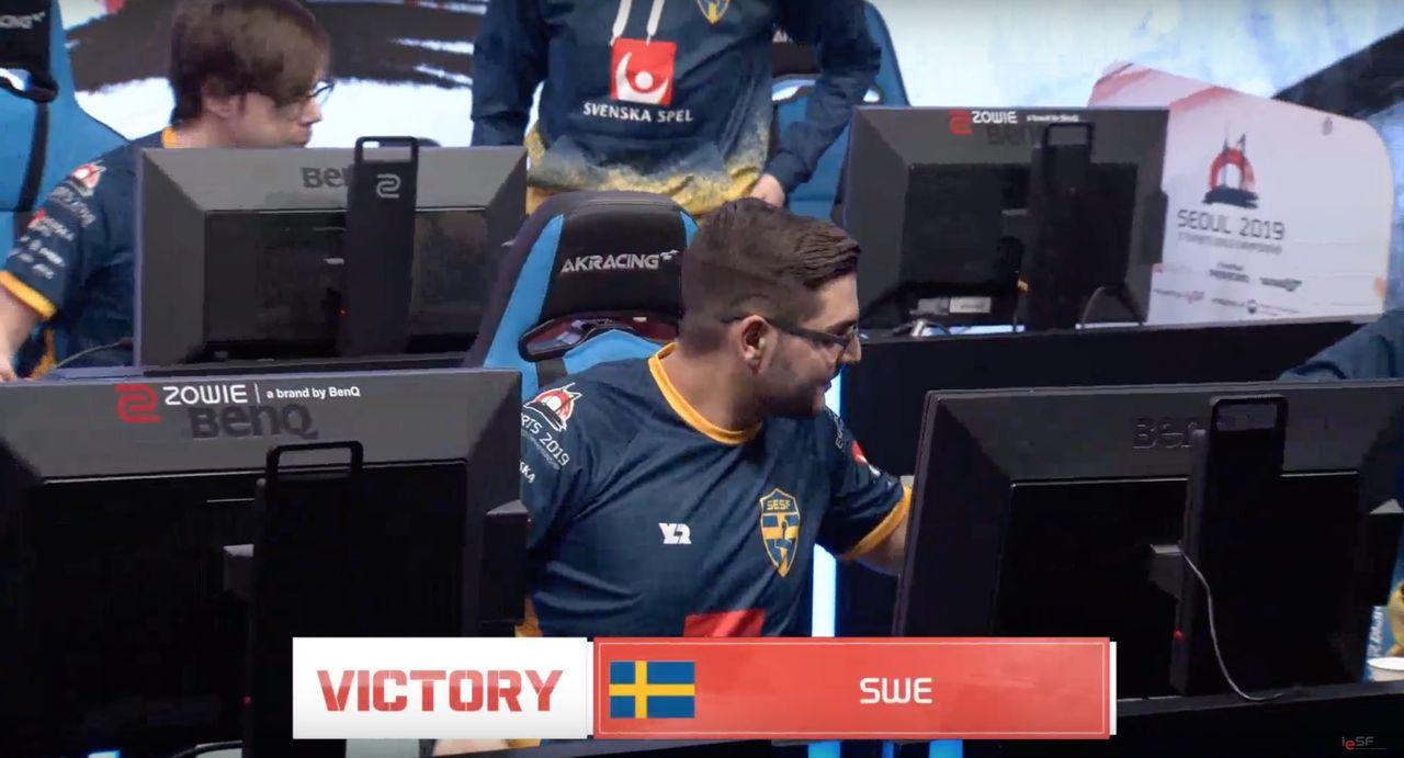 Sveriges landslag i Dota 2 vann i Esport-VM