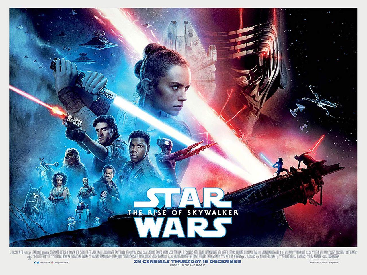 Vinn biljetter till galapremiären av The Rise of Skywalker