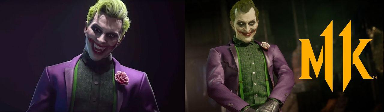 Jokern får nytt utseende i Mortal Kombat 11