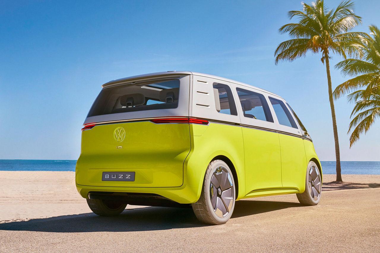Självkörande Volkswagen ID.Buzz till Qatar