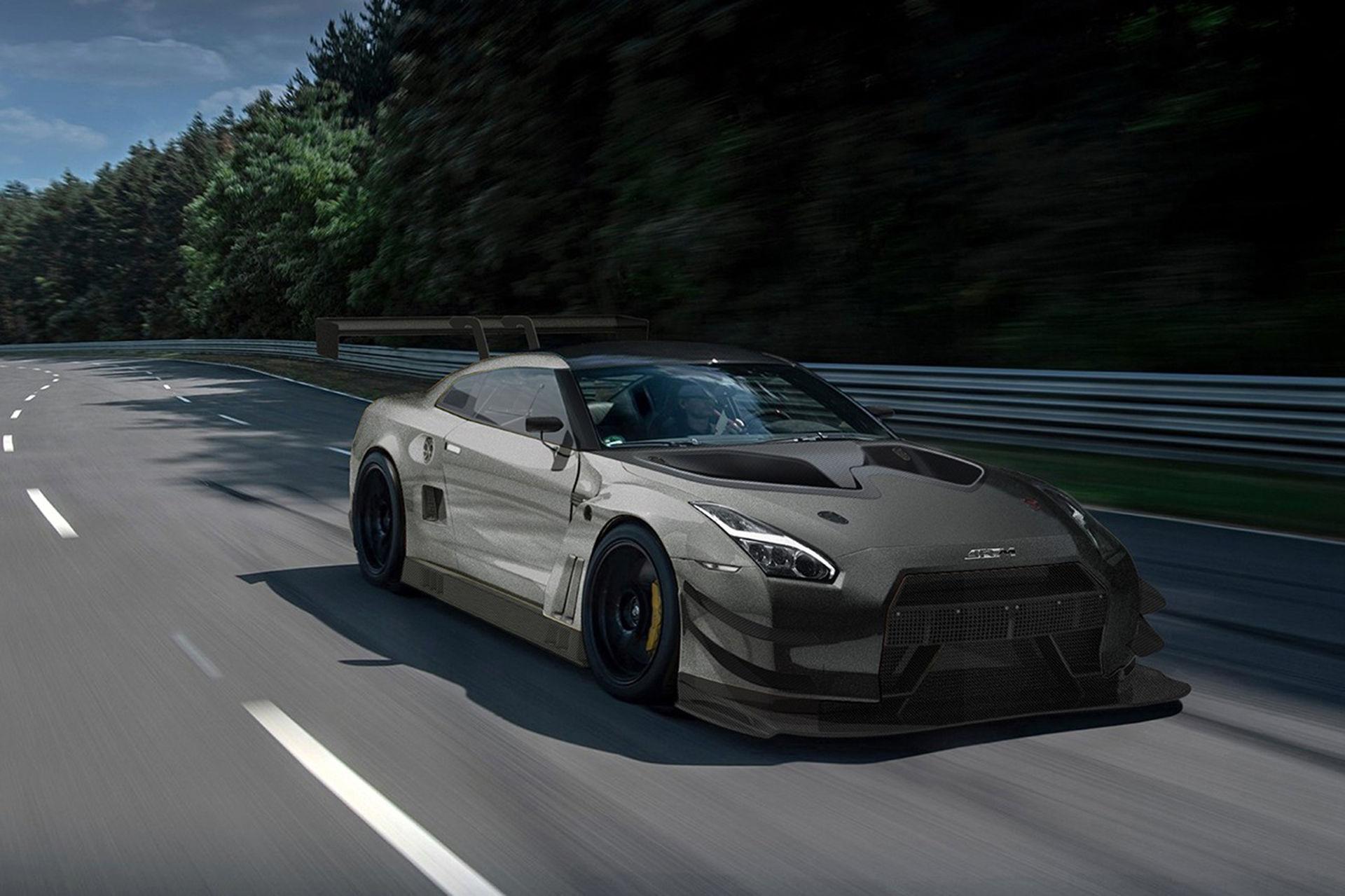 JRM presenterar gatlegal Nissan GT-R