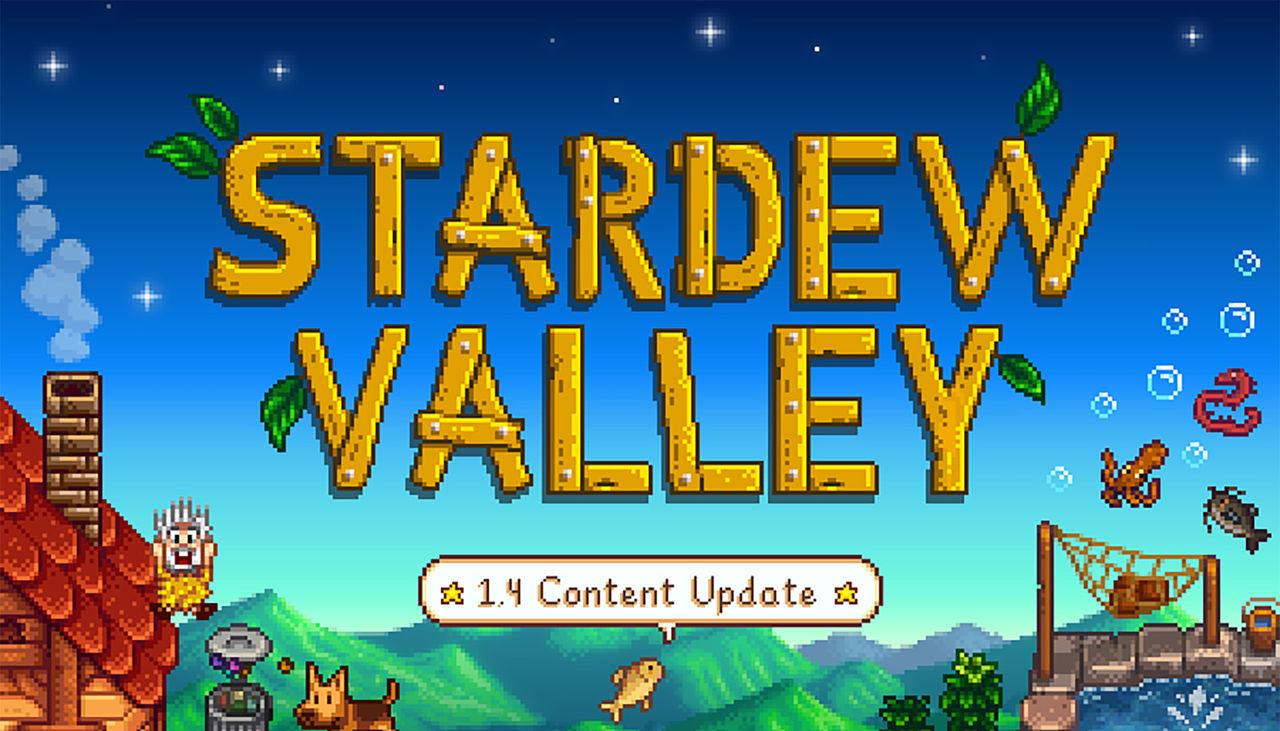Stardew Valley 1.4 ute nu till konsol