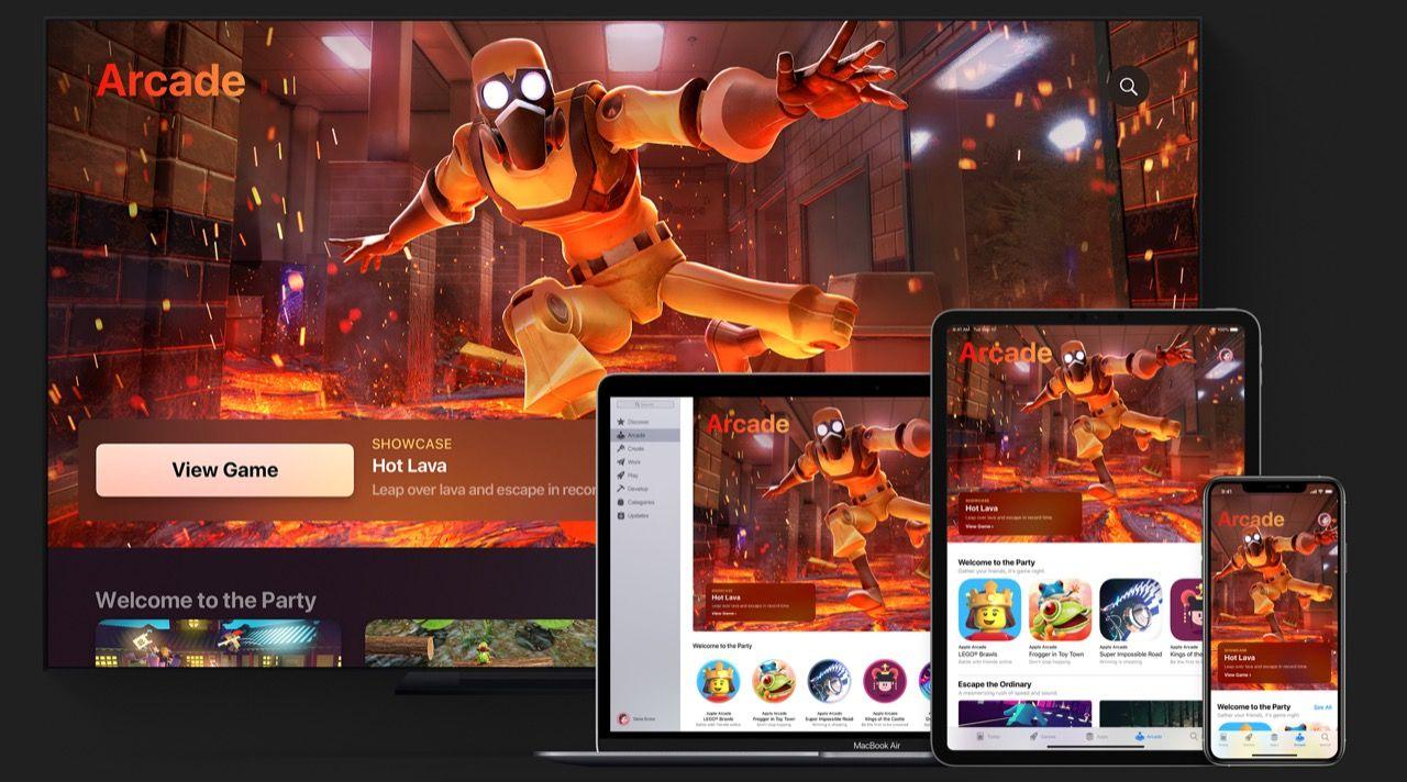 Apple lanserar årsabonnemang till Apple Arcade