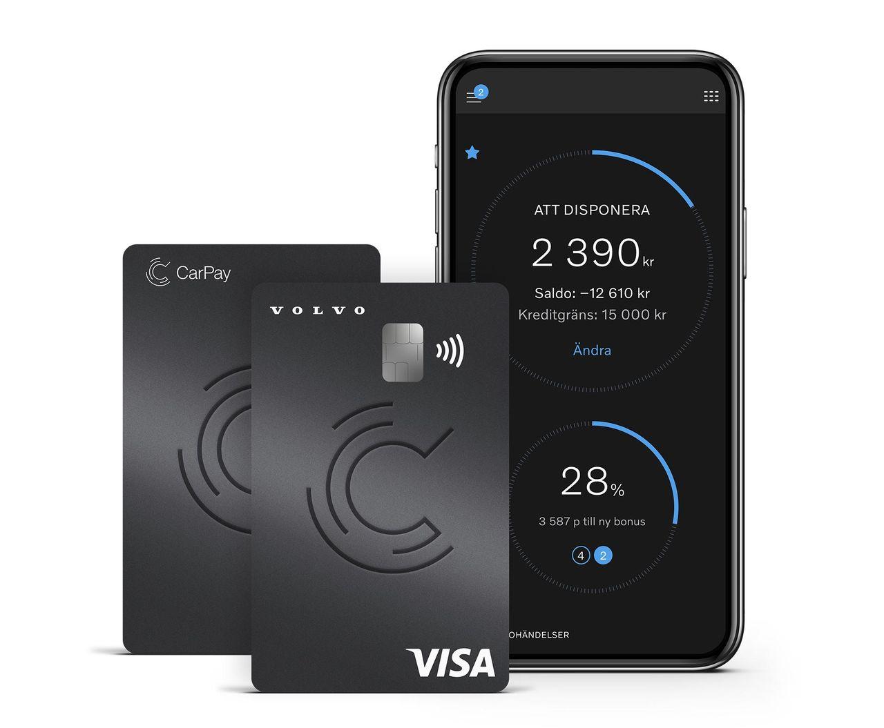 Volvo-kortet får ny design
