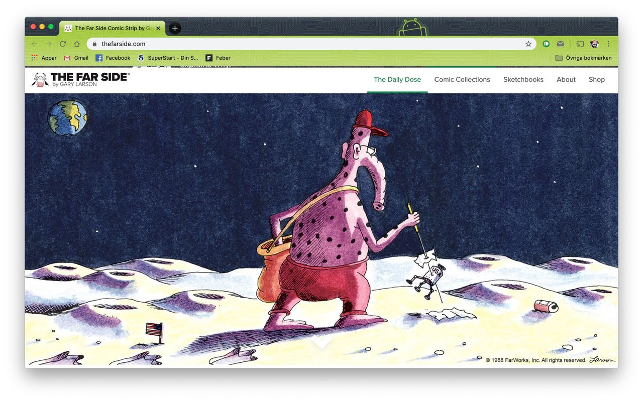 The Far Side går online