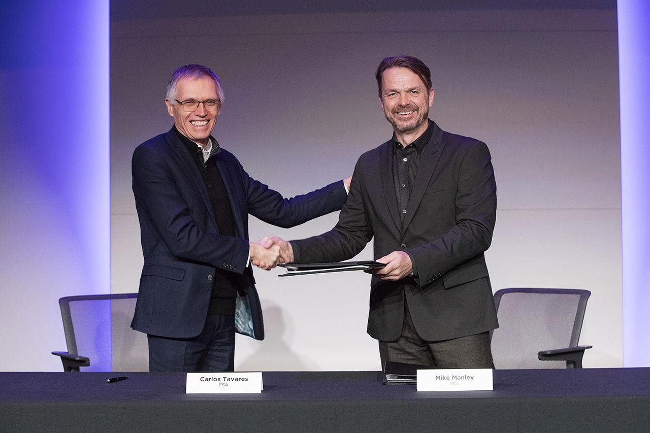 Avtalet mellan FCA och PSA är påskrivet