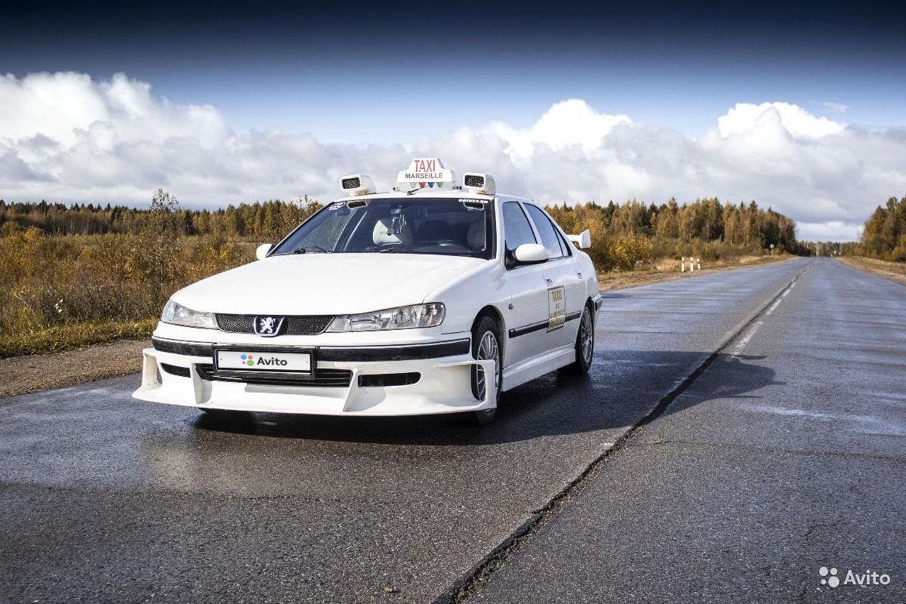 Taxi-stylad Peugeot 406 till salu