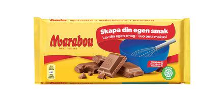 vad innehåller marabou mjölkchoklad