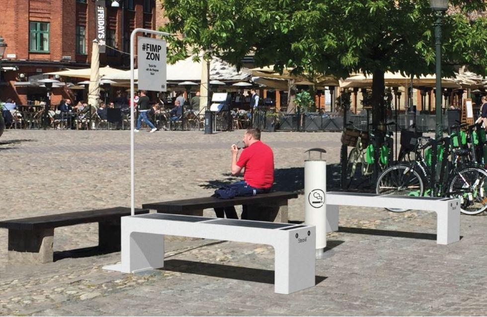 Malmös försök med fimpzoner betraktas som lyckat
