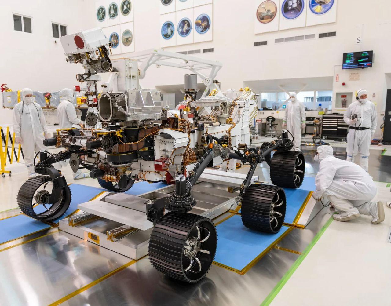 NASA har testkört sin senaste Mars-rover för första gången