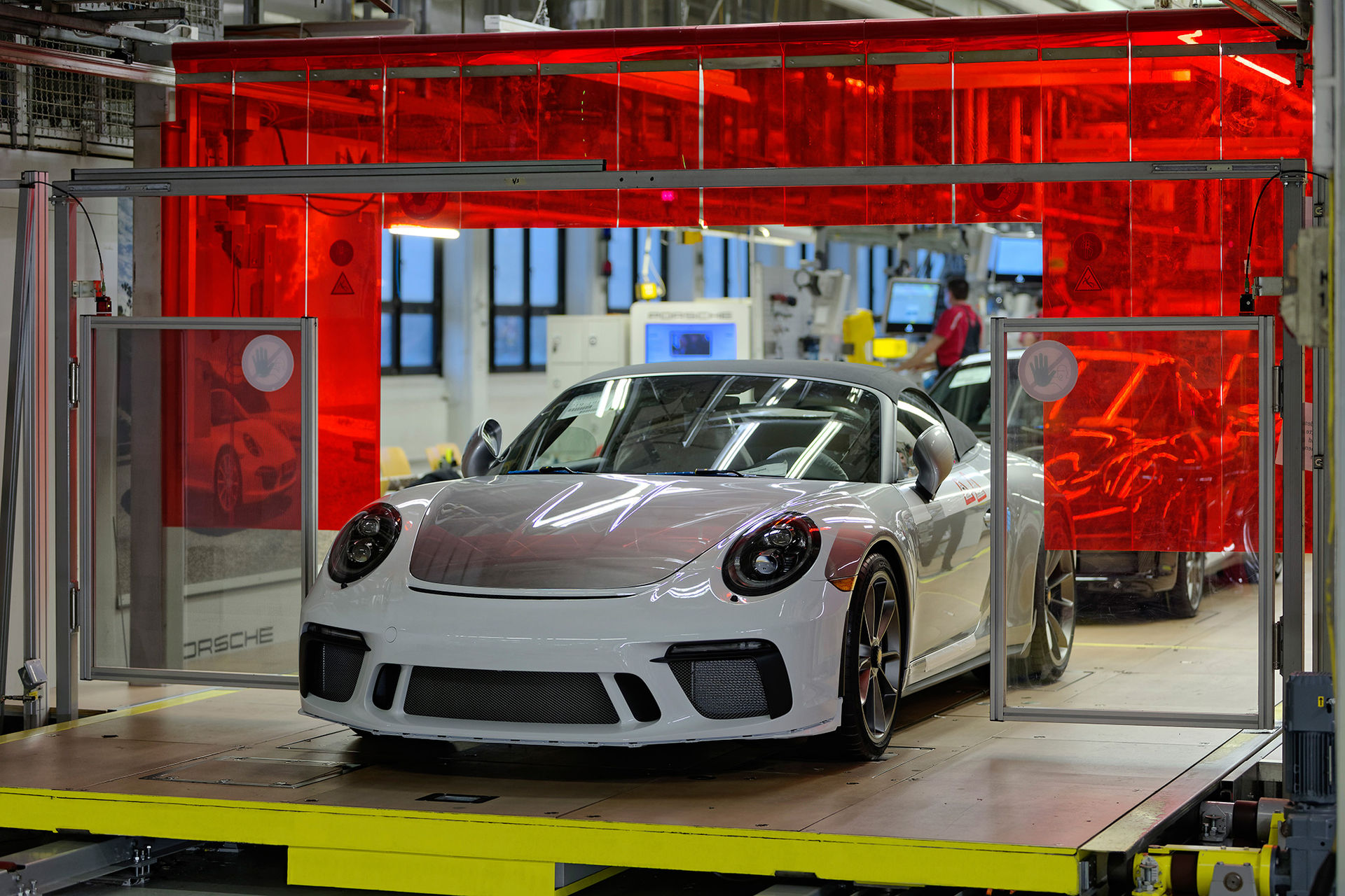 Sista Porsche 991:an lämnar bandet