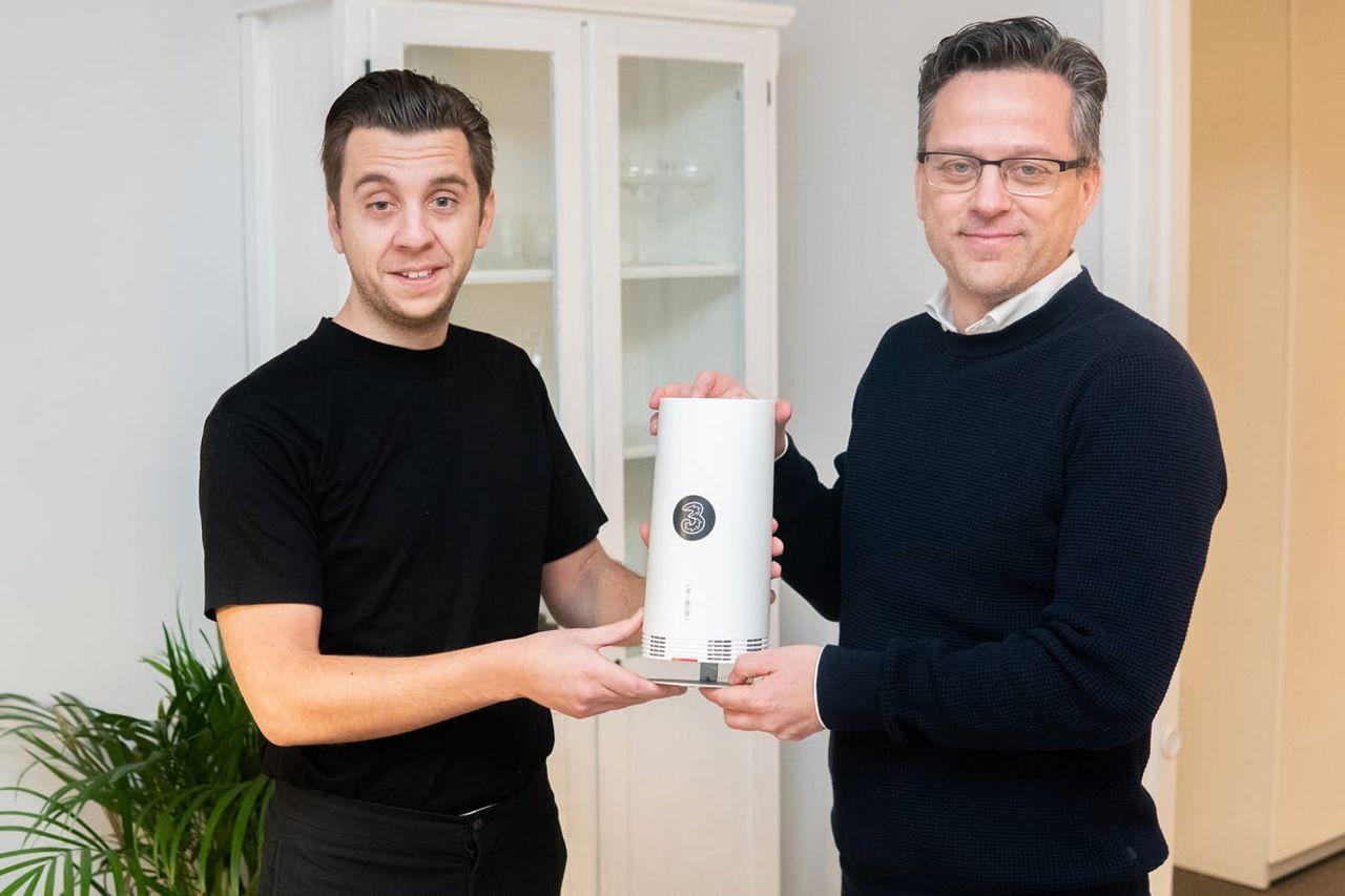 200 personer ville testa 3:s 5G-nät i Stockholm