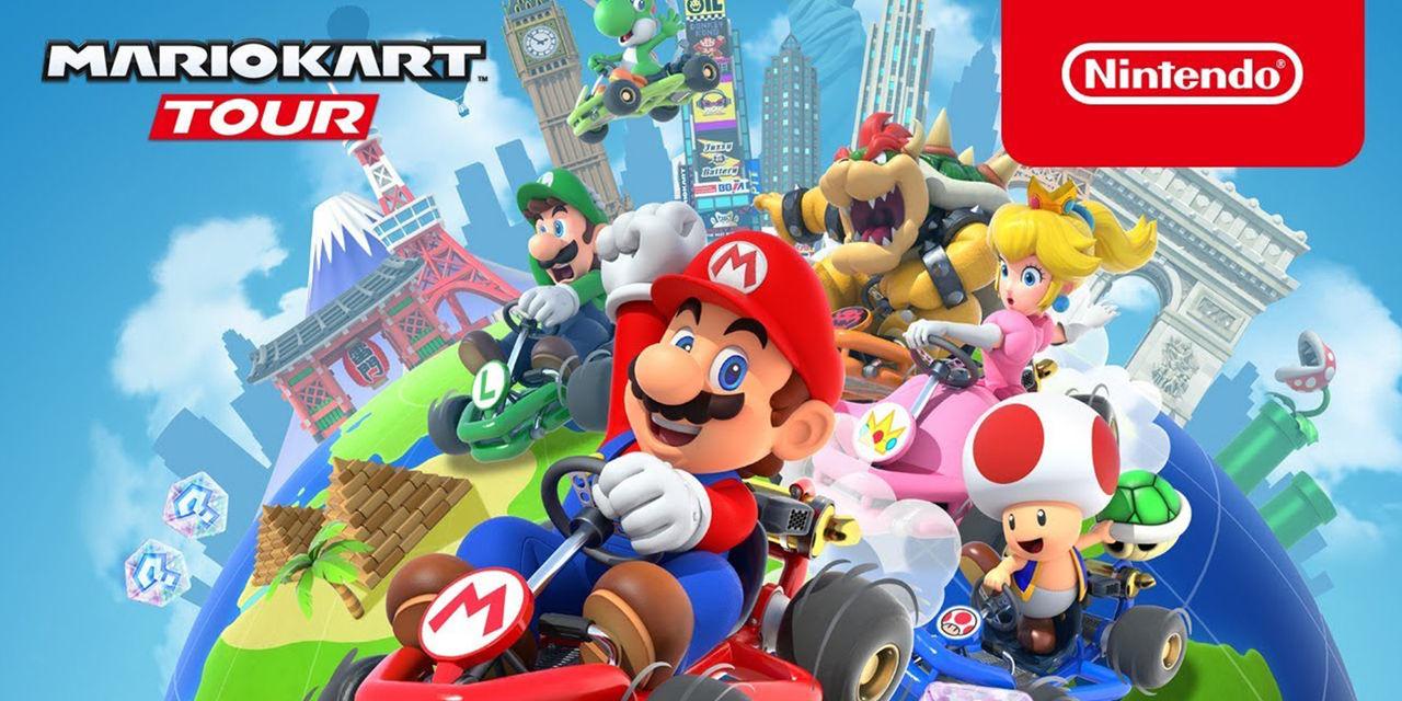 Nintendo testar multiplayer i Mario Kart Tour
