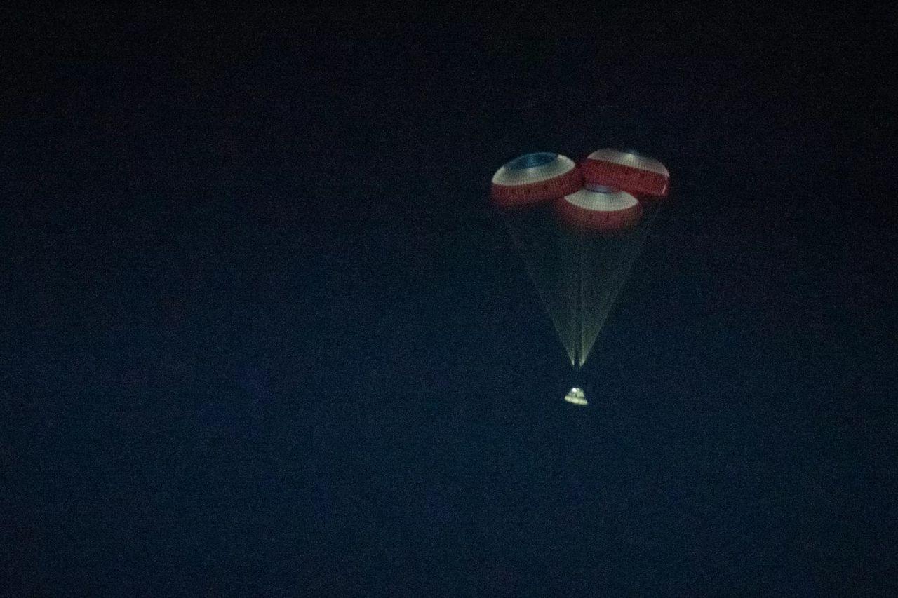 Nu är Boeings Starliner hemma från rymden igen