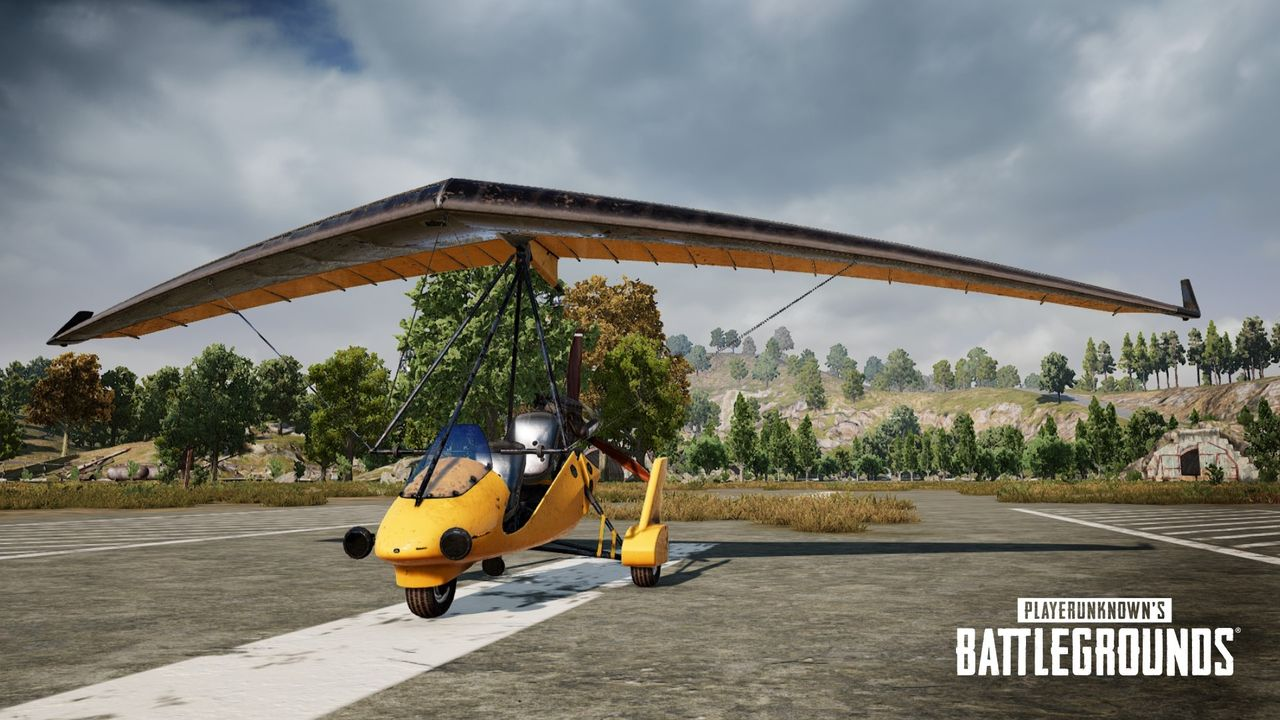 Snart kommer flygmaskiner till PUBG