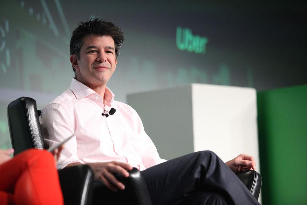 Travis Kalanick lämnar Uber