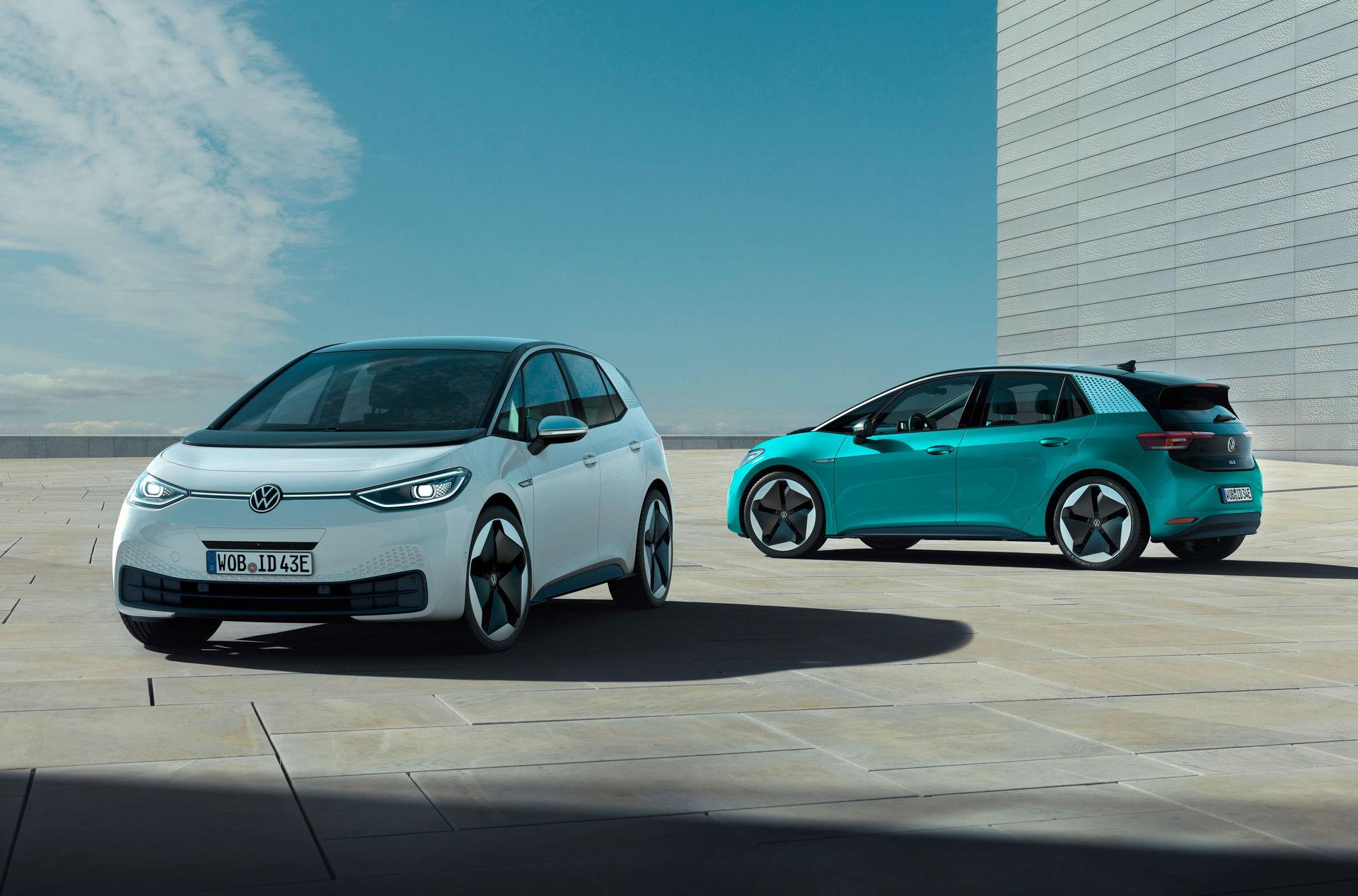 Volkswagen ska ha tillverkat en miljon elbilar 2023