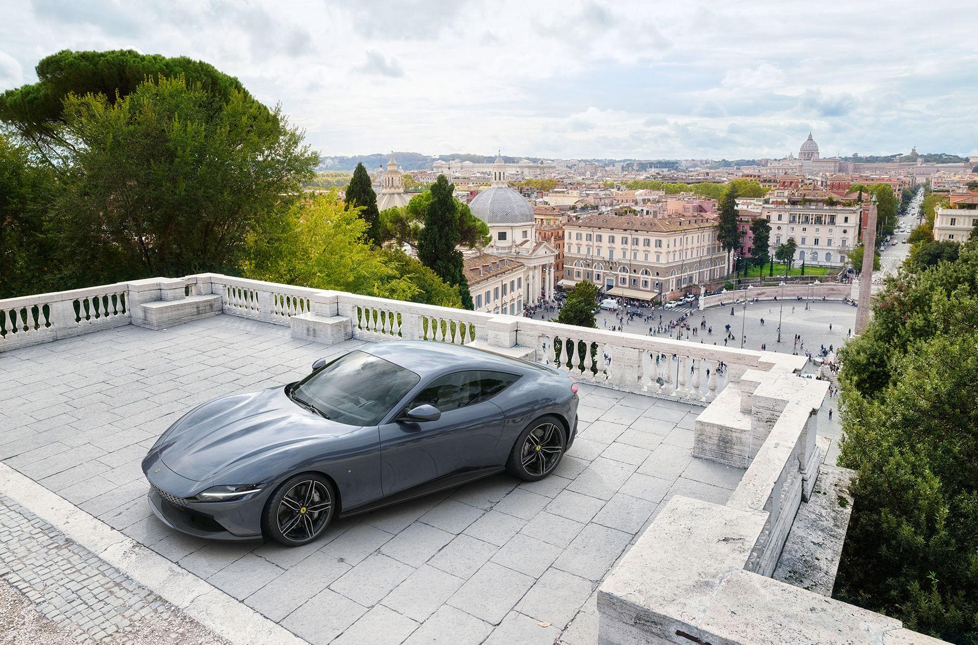 Ferraris kommande SUV delar plattform med Roma