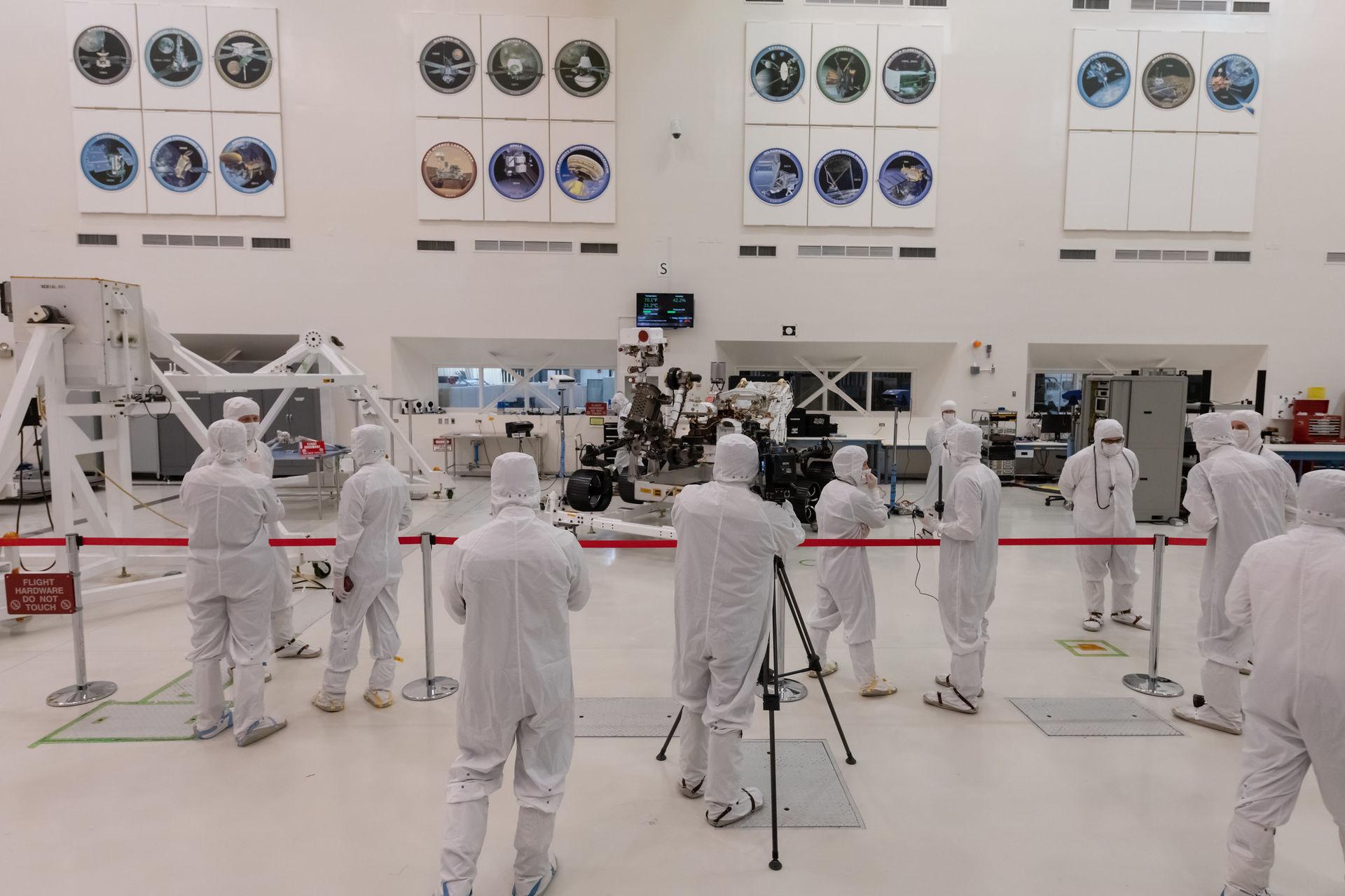 NASA har visat upp sina nästa Mars-farkoster för media