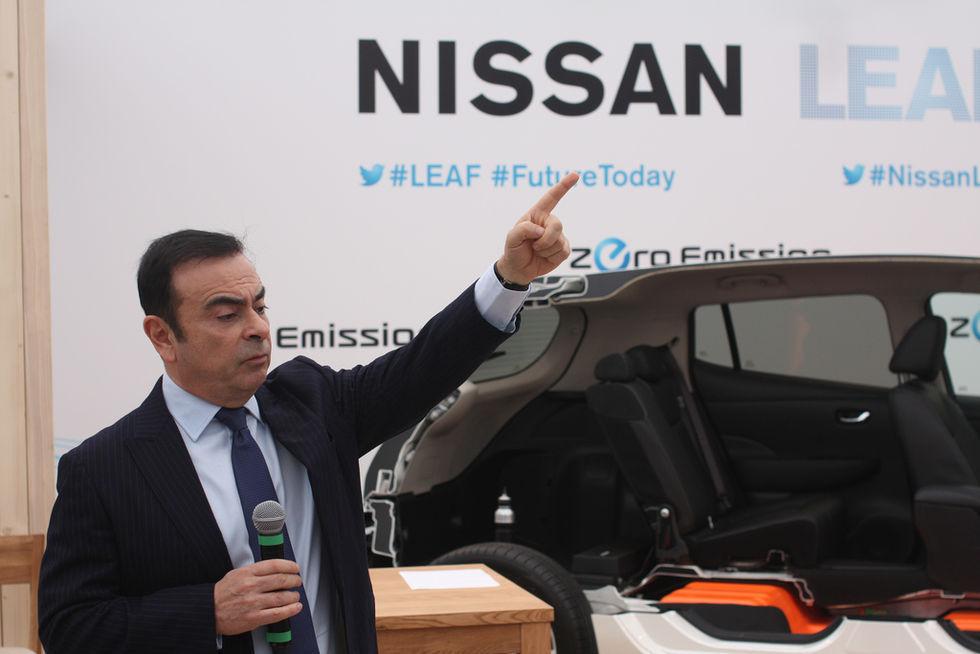 Carlos Ghosn har flytt från Japan