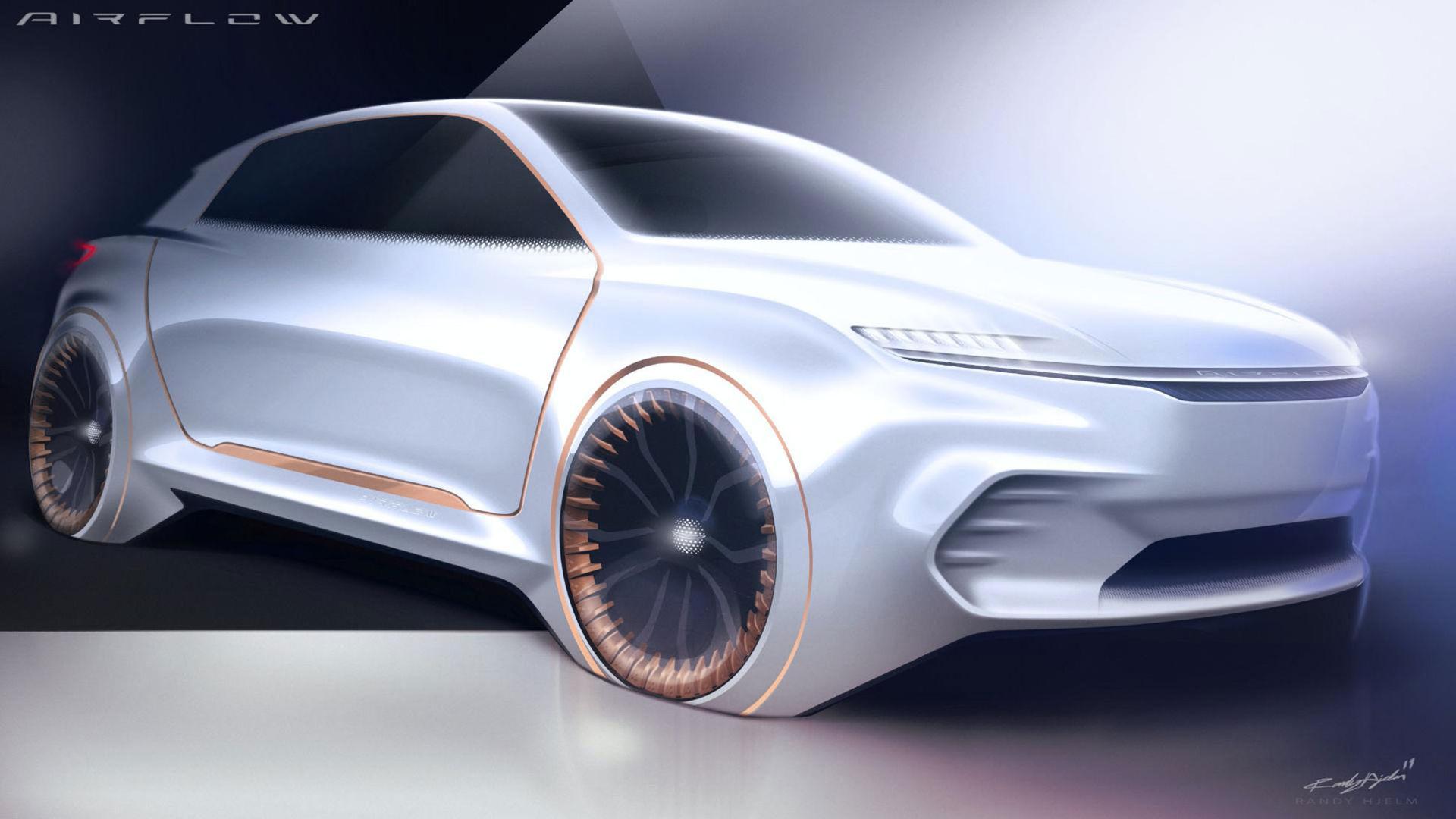 Airflow Vision - ny konceptbil från Fiat Chrysler