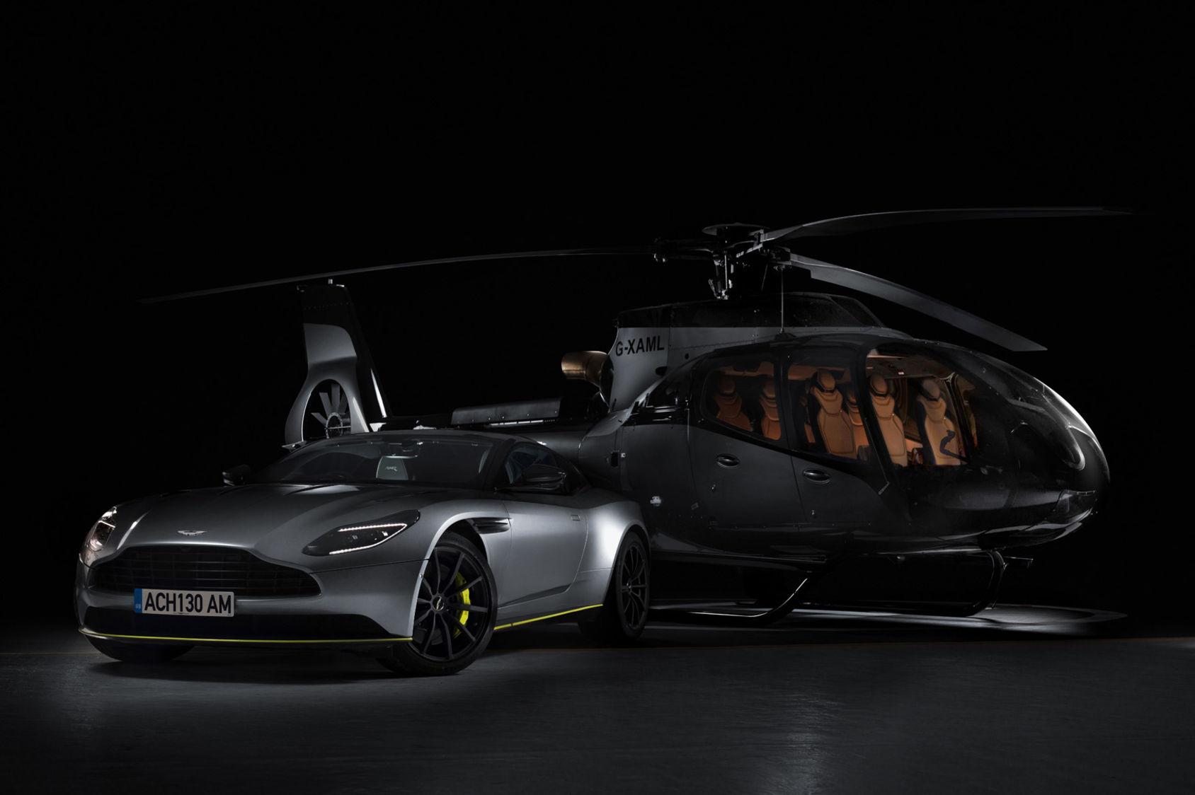 Det här är Airbus och Aston Martins helikopter