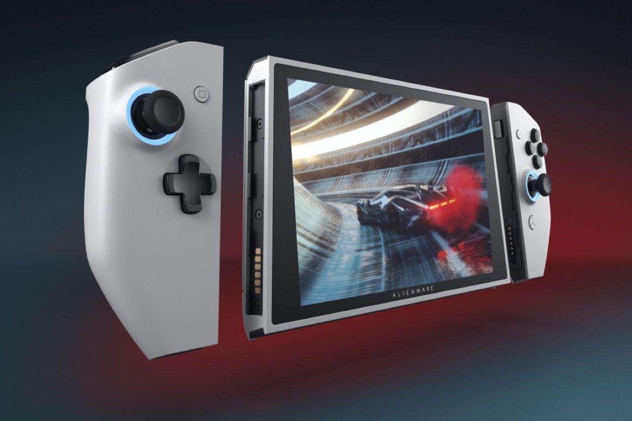 Dell visar upp spelkonsolen UFO