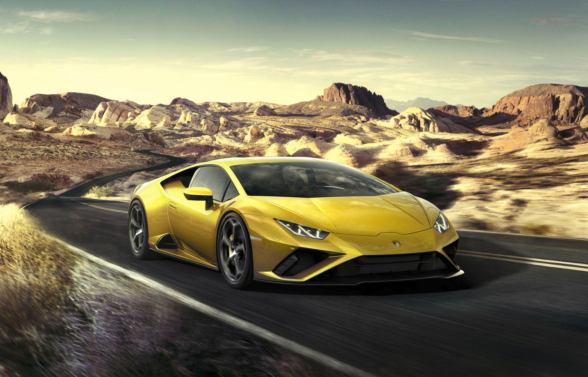 Lamborghini Huracán Evo nu med endast bakhjulsdrift