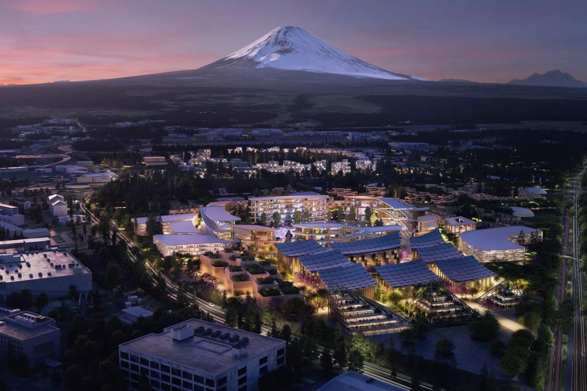 Toyota ska bygga smart stad i Japan