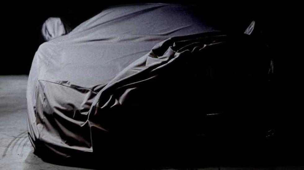 Bugatti döljer något nytt under detta skynke