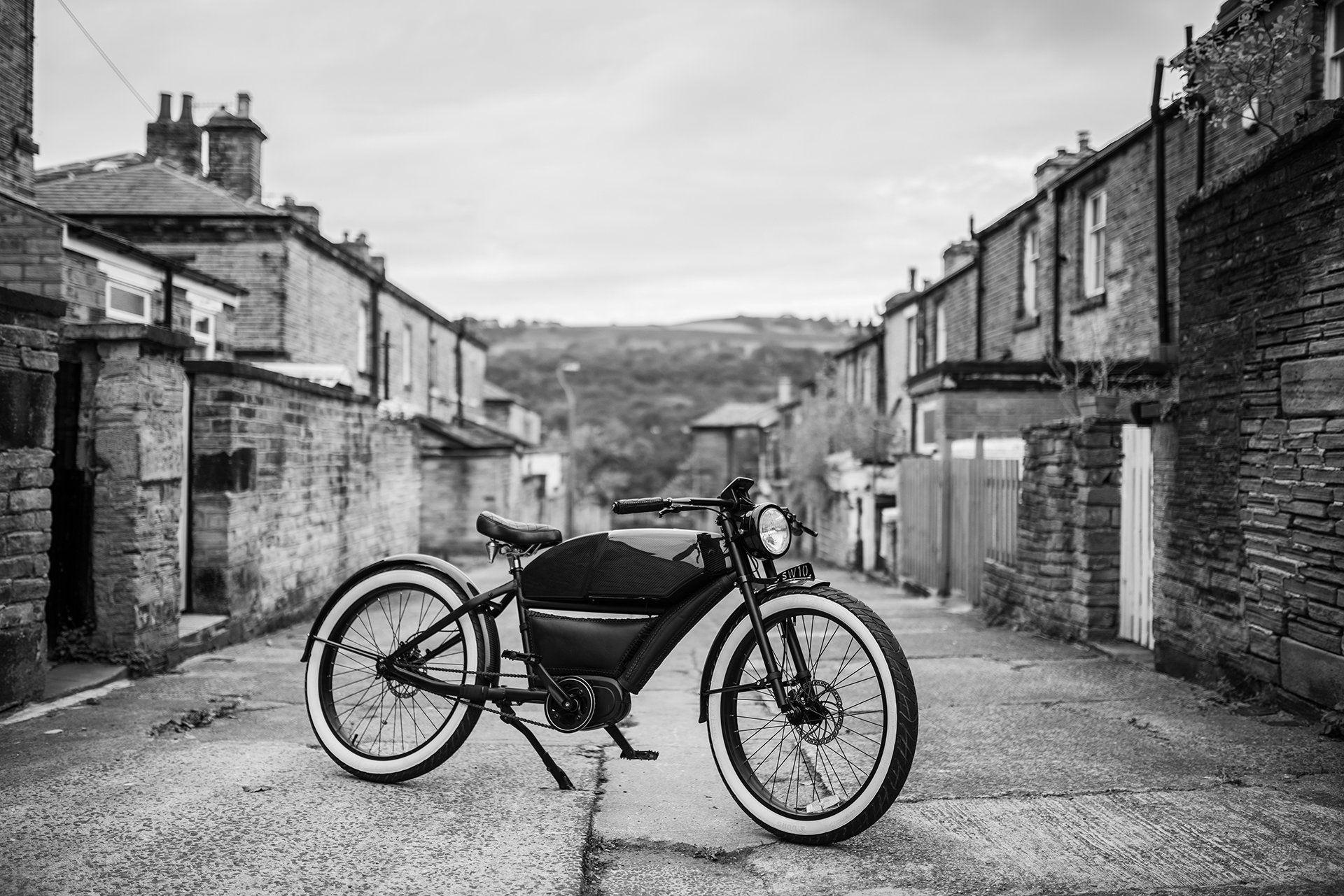 Project Kahn visar elcykel