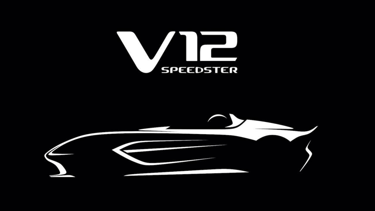 Aston Martin ska bygga en Speedster med V12:a