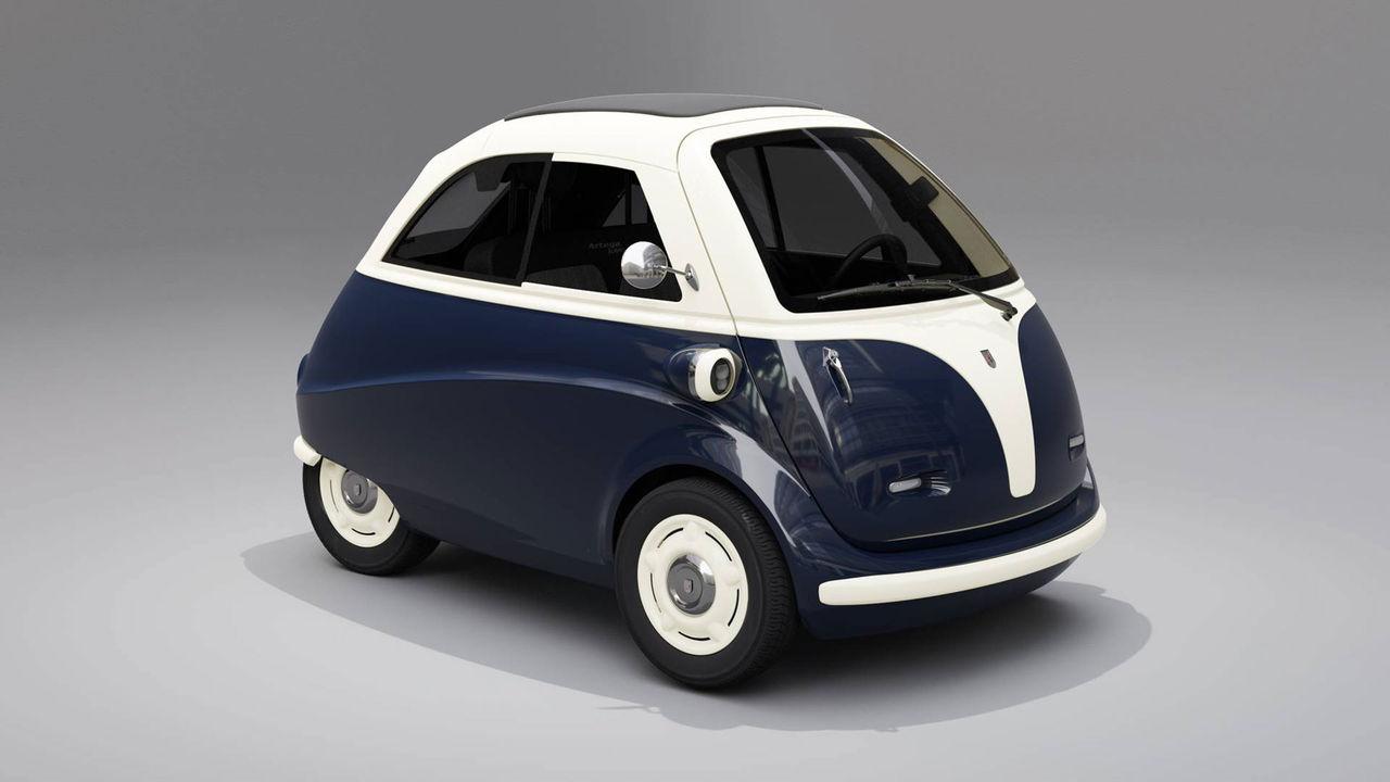 Artega har också byggt en eldriven Isetta-kopia