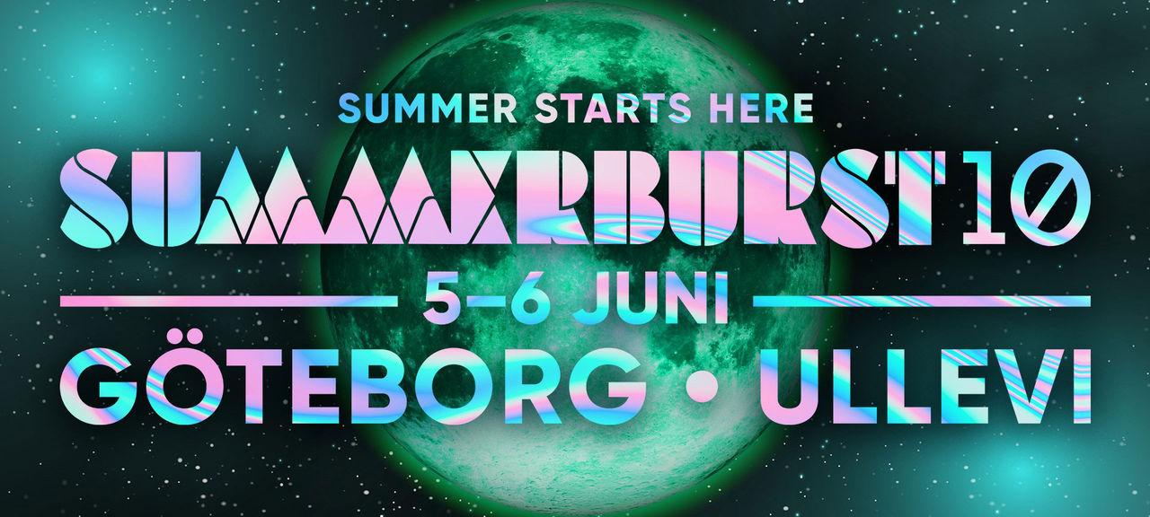 Inget Summerburst till Stockholm i år